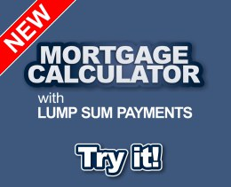 New Mortgage Calculator with Lump Sum Payments