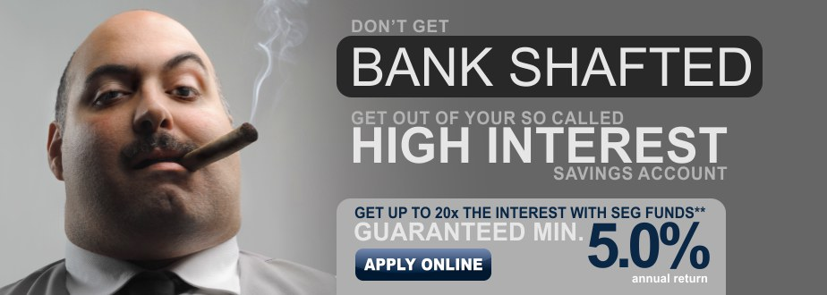 Getting bank shafted?